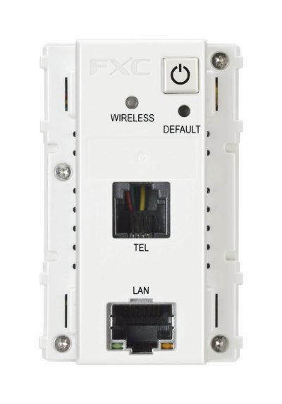情報コンセント型の無線ルータ AE1021