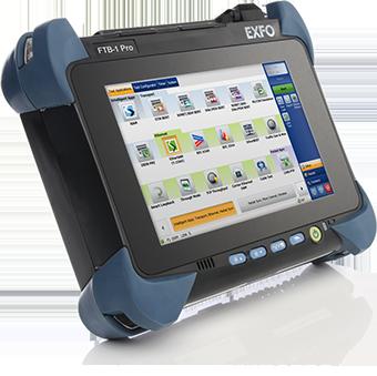 EXFO社の100Gテストモジュールの新製品「FTB-890」と「FTB-890NGE」は可搬型プラットフォーム「FTB-1 pro」に搭載する。