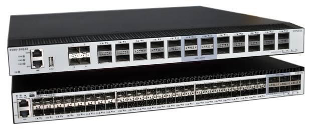 Centecネットワークス社のOpenFlow対応スイッチ